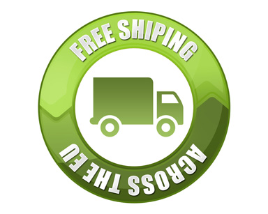 Free shipping across the EU